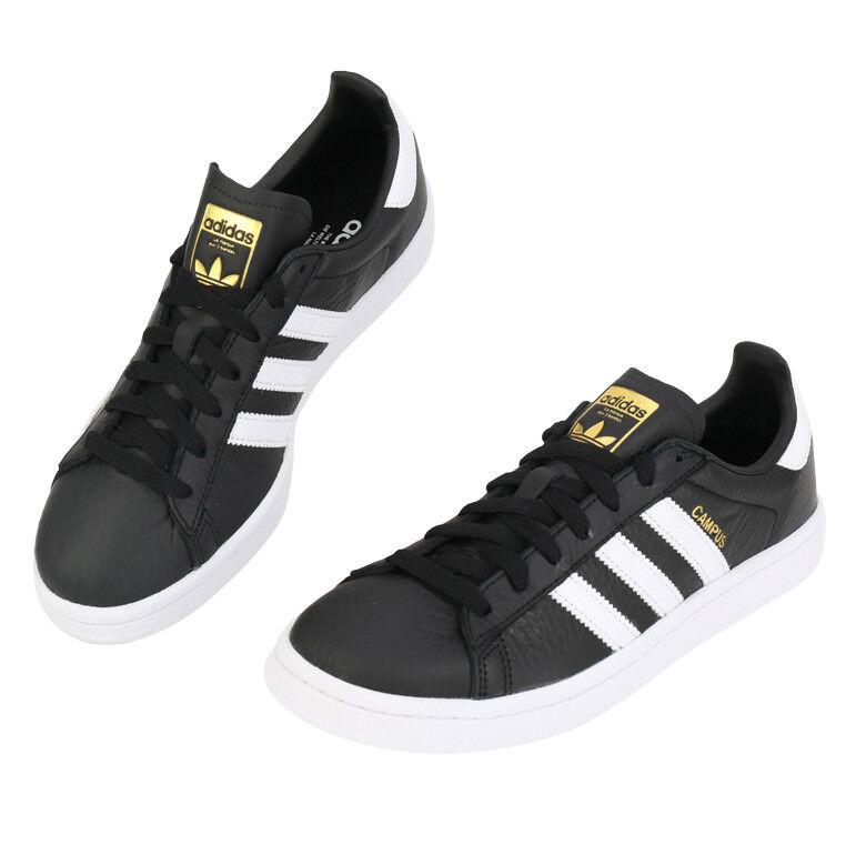 Adidas Originals Campus (CQ2073) Athletic Sneakers Leather Unisex Shoes Scarpe classiche da uomo