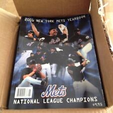 New York Mets Official 2001 Baseball Yearbook near mint to mint shipped in a box
