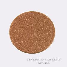 Authentic Mi Moneda Oro Copper Goldstone Disc ORO-19-L
