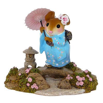 Wee Forest Folk Miniature Figurine M-459 - Japanese Garden