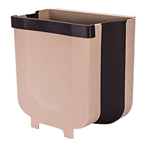 Creative Wall Mounted Folding Waste Bin Kitchen Bin Rubbish Container Box lot US