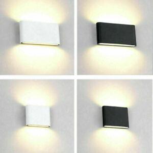 Außen Wandlampe Up/&Down LED Wand Leuchte Grau IP54 3000K warmweiß Wandspot