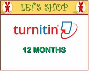 Turnitin-Student-Account-Unlimited-Word-12-MONTHS-Plagiarism-Checker-ONLY
