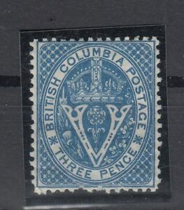 C2715-CANADA-BRITISH-COLUMBIA-SG-21-MINT-MH-CV-150