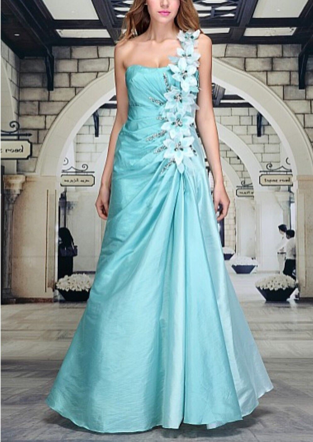 Abendkleid Ballkleid Brautkleid Designerkleid Abiballkleid ( 1077-1078), Gr. 38 38 38 | Lebhaft  | Angemessener Preis  | Helle Farben  b13e14