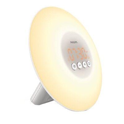 NEW Philips Light Therapy Wake-up Light Model HF 3500/60 Sunrise Stimulation