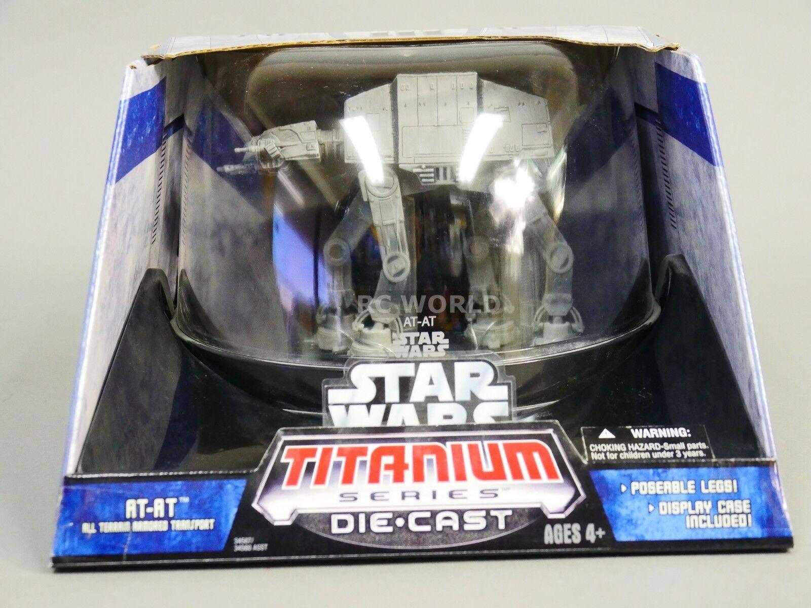 Star Wars Titanium Series AT-AT Transport Die-Cast Model  ob1