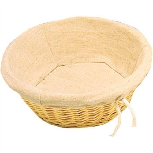 Wicker Round Basket Bread Basket Basket Chip Takeaway Fast Food Pastries Bowl