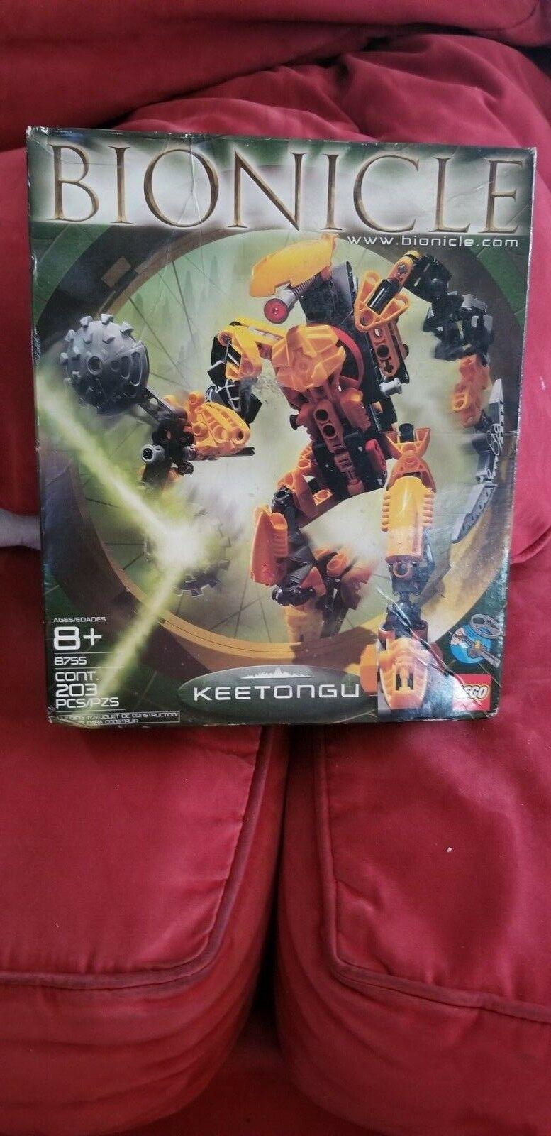 Lego Bionicle Keetongu Metru Nui 8755 Brand NEW Sealed Box 203 pcs