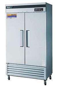 Turbo-Air-35-Cu-Ft-Reach-In-Refrigerator-2-Solid-Doors-TSR-35SD