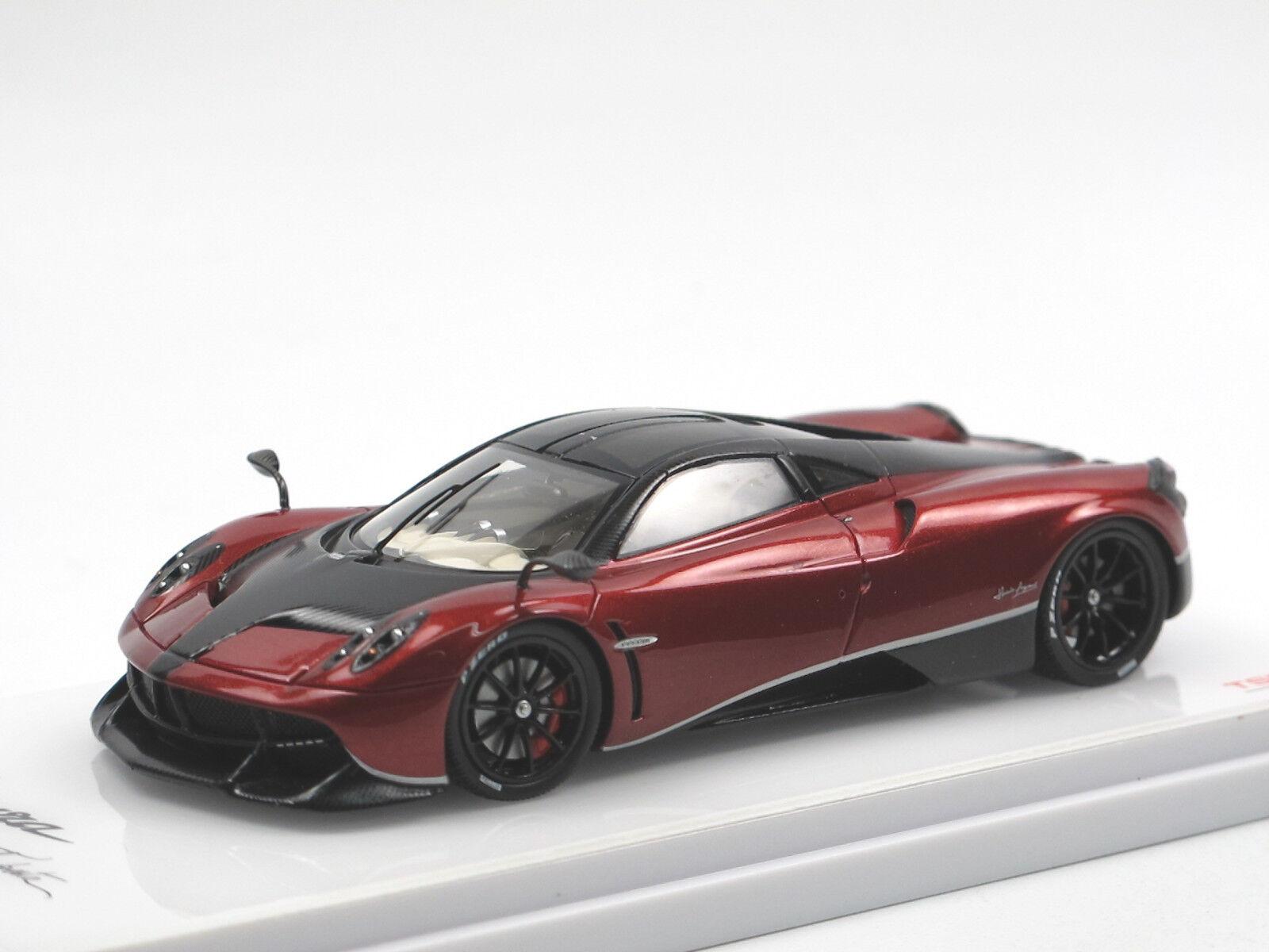 TSM Model 2016 Pagani Huayra  pacchetto tempesta  rosso carbon nero 1 43
