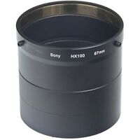 Lens / Filter Adapter Tube For Sony Dsc-hx100 Hx100v Dsc-hx200 Hx100v Hx200v