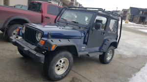 Great Condition! 2005 Jeep Tj 4x4! Best Offer