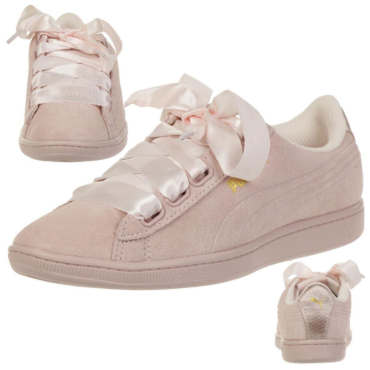 Descuento por tiempo limitado Puma Vikky Ribbon S Sneaker Damen Schuhe 366416 03 rosa
