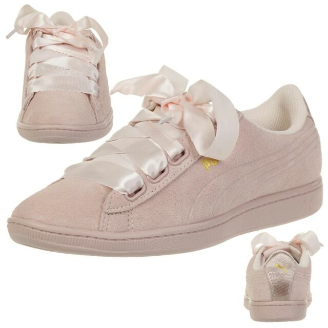 bb6114c26f6cc0 PUMA Vikky Ribbon S Sneaker Women s Shoes 366416 03 Rosa 7 for sale ...