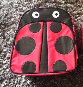 """American Girl Wellie Wishers Ladybug 14"""" School Backpack"""