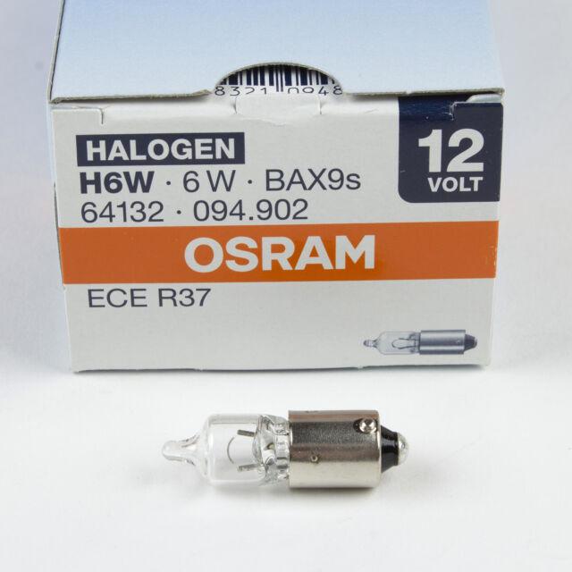 2x Osram Original Rear Fog Light Bulbs Lamps Genuine Replacement
