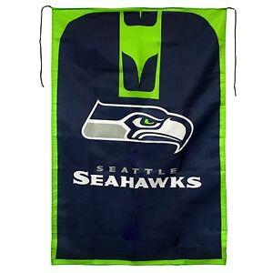 a3786443c New NFL SEATTLE SEAHAWKS Team Fan Flag Wave it or Waar it Blue 31 x ...