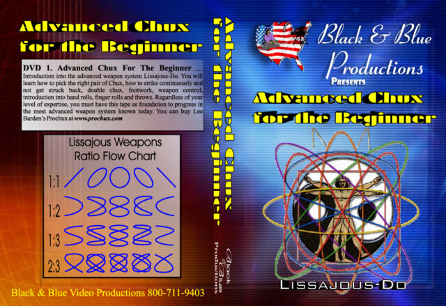 Advanced Prochux Nunchaku for the Beginner instructional DVD 1 by Lee Barden