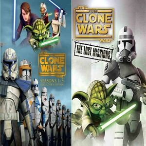 Star-Wars-Clone-Wars-The-Complete-Seasons-1-6-Brand-New-81-99-USA-Seller