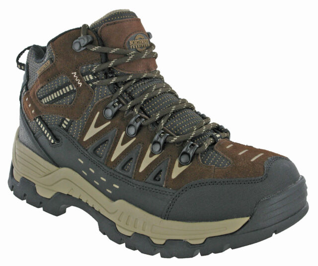 bafb74f542a Northwest Piers Hi Cut Ankle Mens Walking BOOTS Waterproof Slip Resistant  UK 7