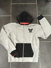 Nike Canarinho AW77 Zipped Hoodie Jacket Sweater SZ Medium Grey Retro Brazil SB