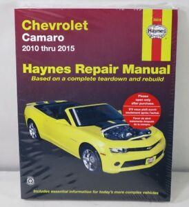 Haynes Workshop Manual Chevrolet Camaro 2010-2015 Service /& Repair