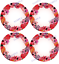 "4 4/"" CUSTOM ROUND adhesive labels stickers"