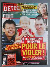 ► LE NOUVEAU DETECTIVE N°1610 - 2013 - LES PAPAS DE L'HORREUR - CLAIRE CHAZAL