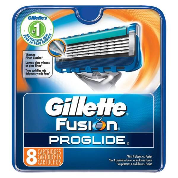 Buy Gillette Fusion ProGlide Manual Men's Razor Blade Refills 8 Count online | eBay