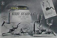 PUBLICITE CONA CAFETIERE DE TABLE KITCHEN MODEL KIRBY BEARD DE 1958 FRENCH AD