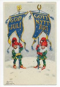 New-Year-Gnome-Flags-Sweden-Artist-sign-Jenny-Nystrom-Heritage-Axel-Eliasson-PC