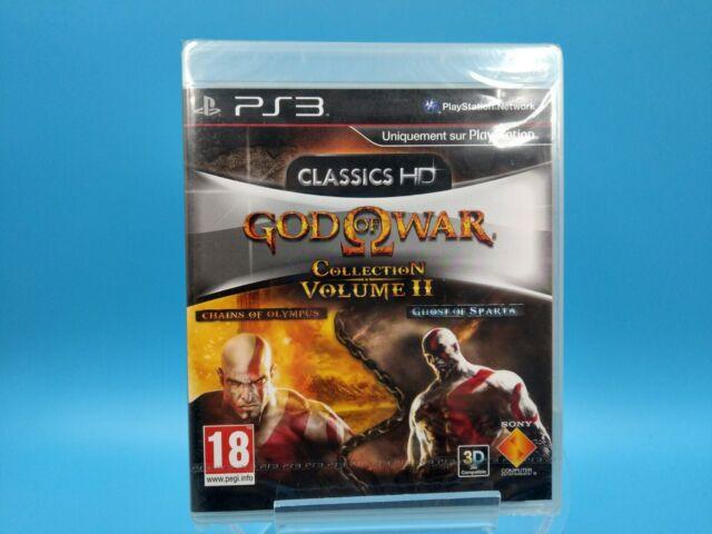 jeu video sony playstation 3 PS3 neuf PAL FR god of war colection volume 2