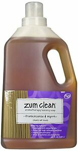 New Indigo Wild Zum Clean Laundry Soap Frankincense