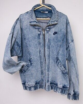 Stone Wash Men's Denim Jean Jacket XL