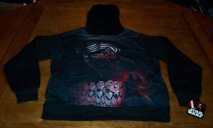 STAR WARS KYLO REN First Order HOODIE HOODED Sweatshirt SMALL NEW w/ TAG