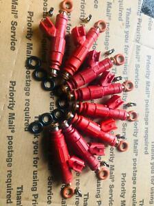 Lifetime Warranty Bosch Upgrade 4 Hole Ram 1500 4.7L 5.2L 5.9L Fuel Injector Set