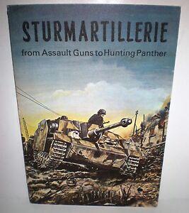 BOOK-Aero-Publishing-Armor-3-Sturmartillerie-Assault-Gun-1967-4-Color-pages