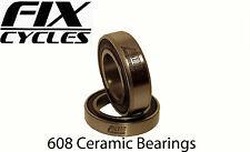 UNITi Hybrid Ceramic Bearings 608, 608RS - 8 x 22 x 7 mm
