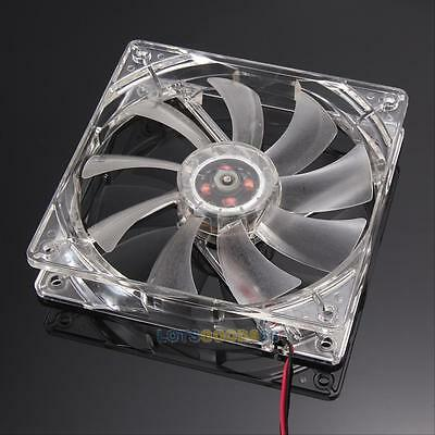 120mm 4LED 4 colors 4 Pin Cooling Fan Blue For Computer Case CPU Cooling Cooler