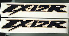 Zx12r Calcomanías / Stickers Grandes para lado derecho e izquierdo Carenados (cualquier Color)