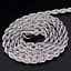 Gold-Color-Twist-Chain-Necklace-Stainless-Steel-Women-039-s-Men-Rope-Chain-Necklace thumbnail 7