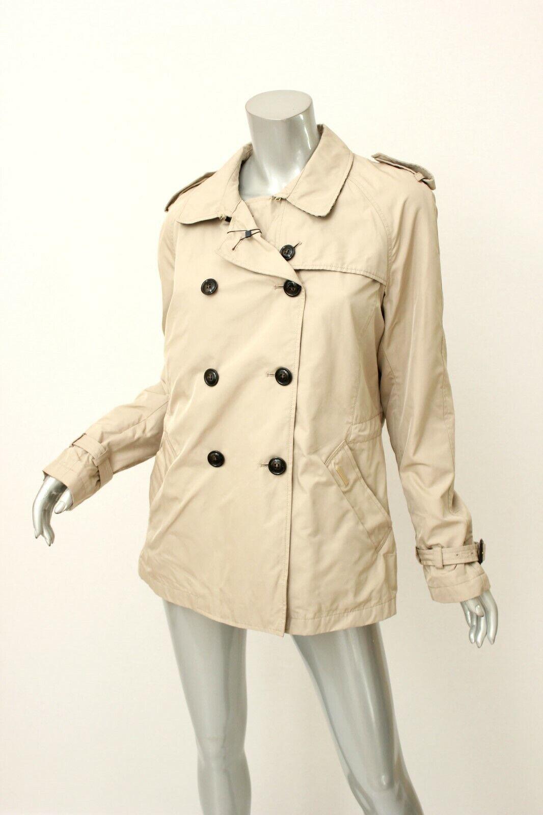 WOOLRICH JOHN RICH & BROS. Khaki Short Trench Coat XL