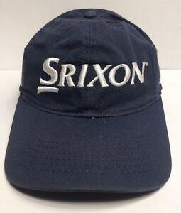 83822988c65 Srixon Z Star Golf Cap Hat Navy Blue Adult Adjustable Cotton