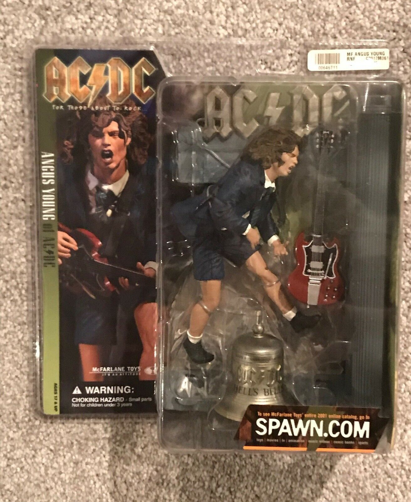 2010 McFarlane ACDC For Those About To Rock ANGUS YOUNG cifra GREAT CONDITION