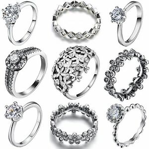 Size-6-9-Fashion-Women-925-Luxury-Jewelry-Silver-Ring-Wedding-Engagement-Rings