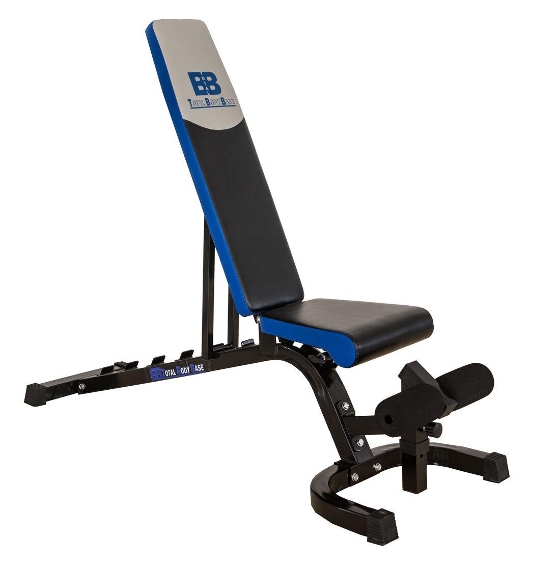 Base corporal total Ajustable Peso Bench Incline plana rechazar elevación FID utilidad