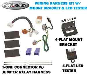 Details about TRAILER HITCH WIRING W/ CKET & TESTER FITS NISSAN FRONTIER on