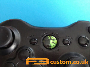 custom xbox 360 the hulk guide button ebay rh ebay com Xbox 360 Controller Camo Xbox 360 Slim