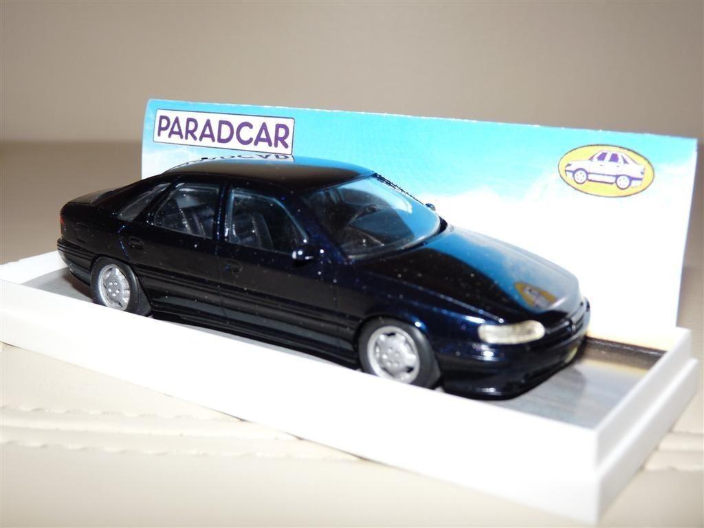 Paradcar 001 1 43 1992 Renault Safrane Safrane Safrane RXE V6i Coche Modelo de Resina Hecho a Mano 337192
